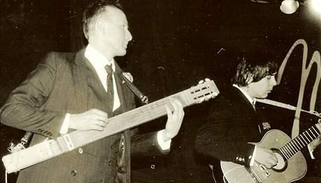 Karel David (vlevo) a Stanislav Staník Filip ze skupiny Ještě jsme se nedohodli
